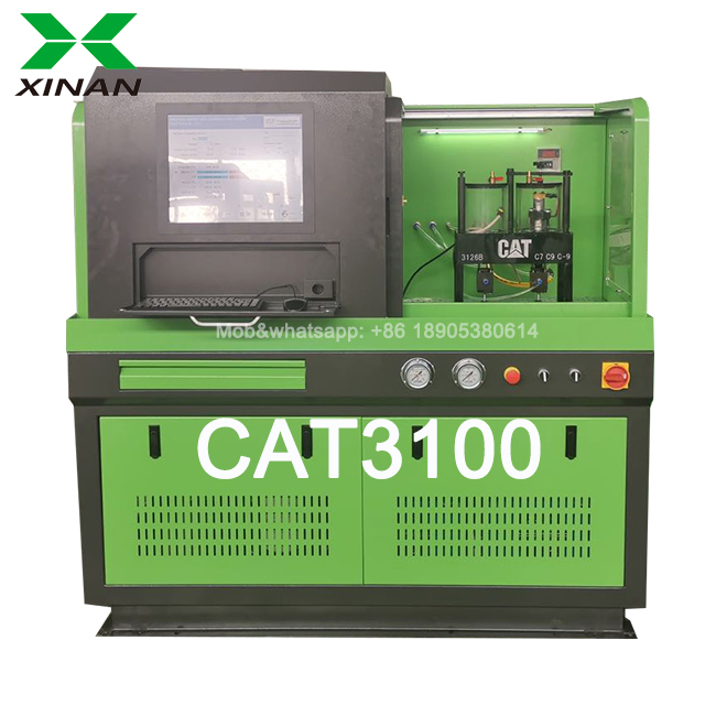 CAT3100 common rail injector test bench with HEUI